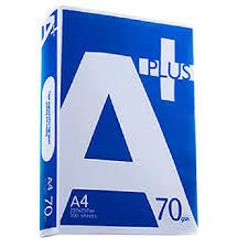 Giấy in A + Plus A4 70